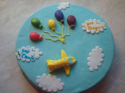 Украшение на детский торт из мастики своими руками