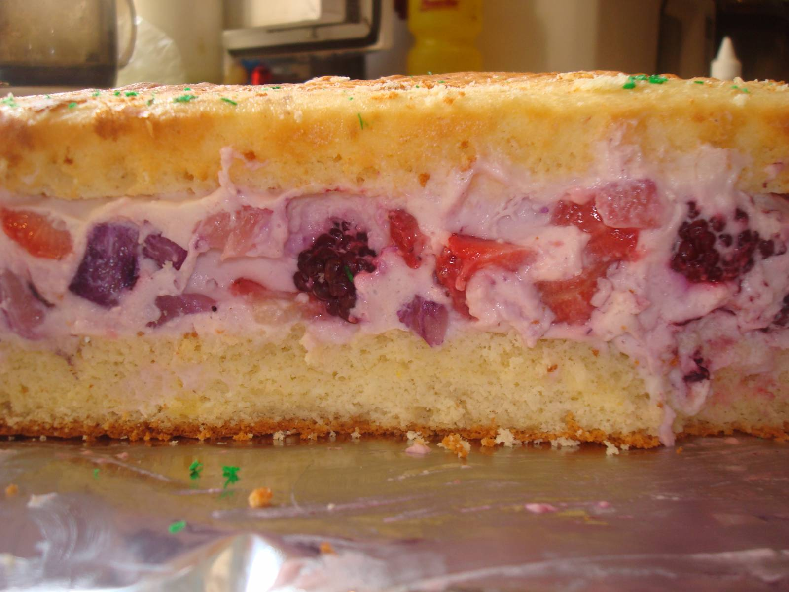 Как сделать торт с йогуртовым кремом 644